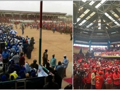 Jubilee rally in Mandera turns chaotic, rival supporters hurl stones at each other