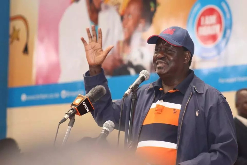 Raila FINALLY speaks on KSh 90 unga