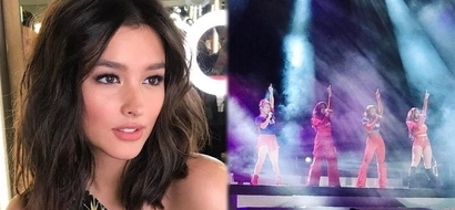 Liza Soberano fangirls over her favorite girl group after watching their concert