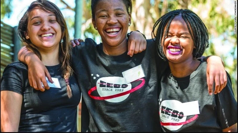 Teenage girls, aged 16 and 17, to launch Africa's FIRST private space satellite into space (photos)