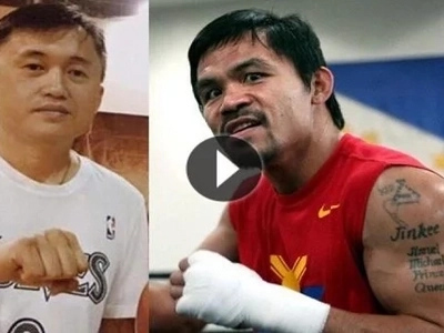 "World champ Manny Pacquiao knocked out by Duterte's ""Pambansang Photobomber"""