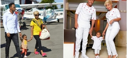 Size 8 gets extremely EMOTIONAL after her husband DJ MO confirms that all is well