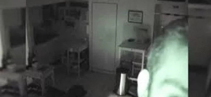 He noticed his food disappears from his fridge, so he decided to set up a hidden camera. When he checked the footage, he immediately called police!