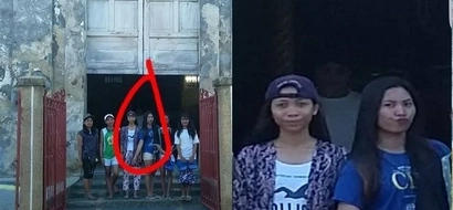 Unknown priest photobombed their group photo which gave everyone in the goosebumps. Check out the story behind this!