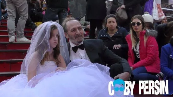 12-year-old Marries a 65-year-old Man. Wait, What?! The Results of this Social Experiment Were Nothing Short of Amazing & Has Got Netizens Mind Blown!