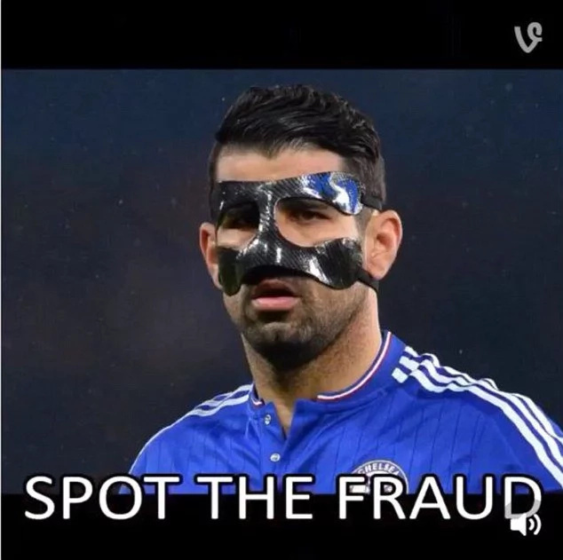 PSG's official Twitter feed labels Diego Costa a 'fraud'