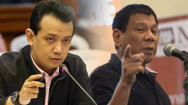 Duterte denies Trillanes' plunder case