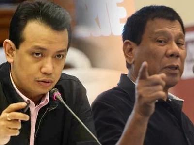 Duterte denies Trillanes' plunder case