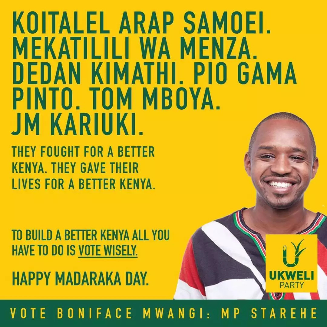Boniface Mwangi aliitisha msaada lakini msaada huo UMEMSHUTUA akakosa kuamini