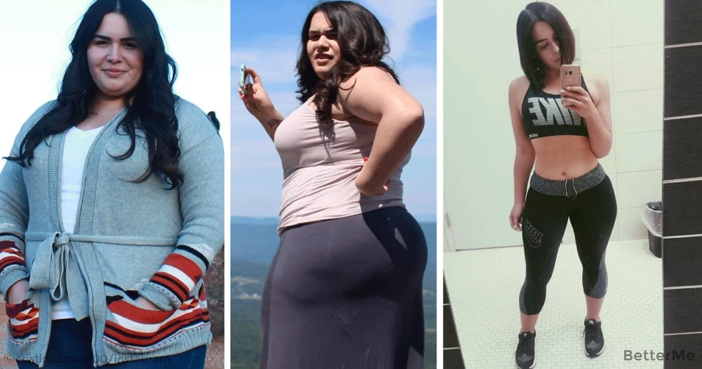Cristina Diaz lose 100 pounds in one year. See her transformation