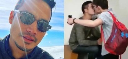 Piolo Pascual speaks up about his viral kissing video with son Iñigo Pascual