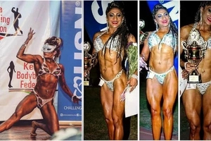 8 photos of Kenya's SEXIEST female body-builder that will make you sweat