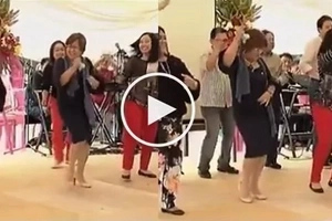 Hataw kung hataw! Bubbly De Lima grooves to 'Macarena'