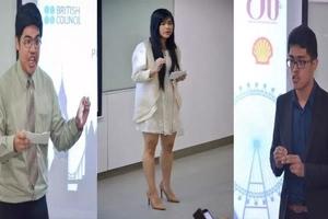 Sino kaya ang magwawagi ngayong taon? Pinoy public speakers battle for prestigious contest in London