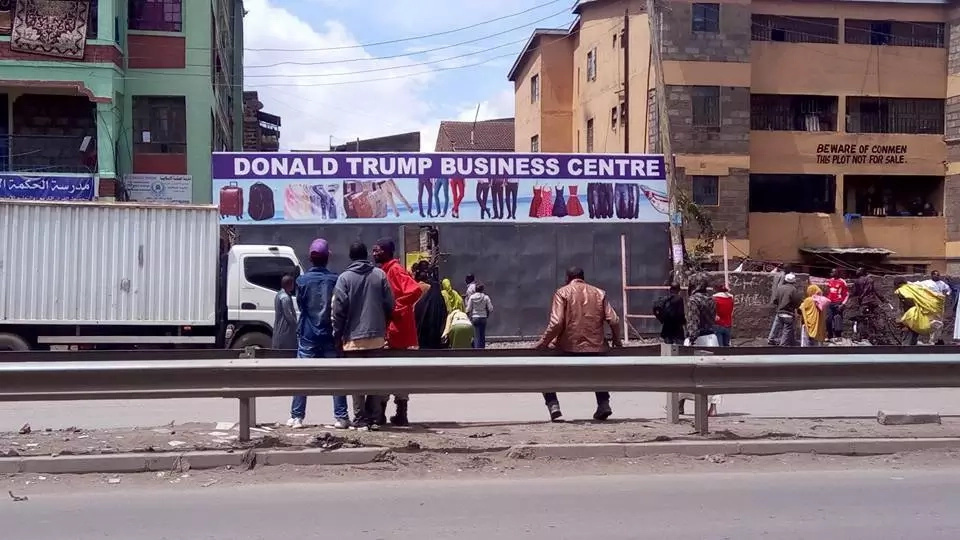 Mall dedicated to Donald Trump to open in Eastleigh