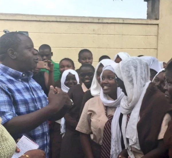 Matiang;i surprises high school girls with KSh 100,000 lunch