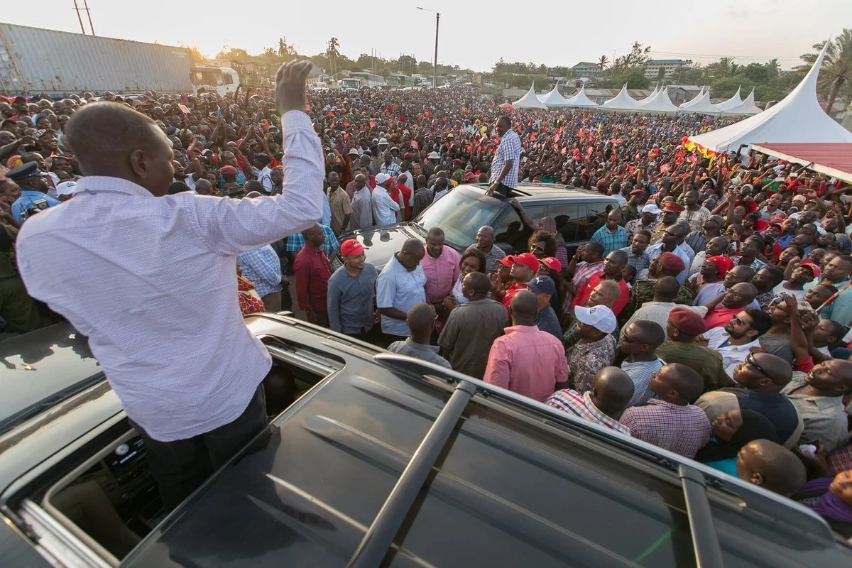 Uhuru corrected after making 'false' statement in Nyamira