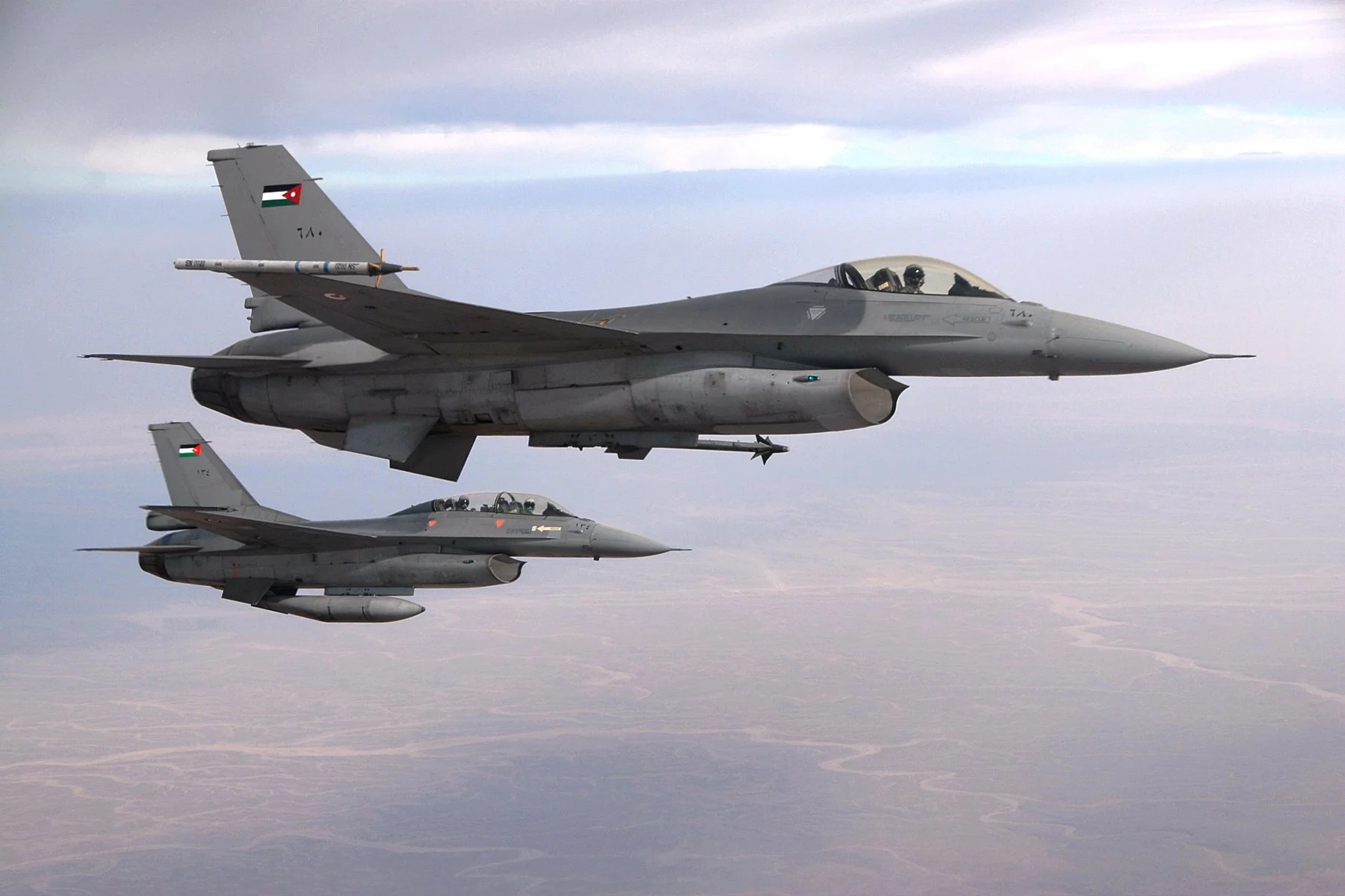 Jordanian lethal Air Force to train KDF fighter pilots