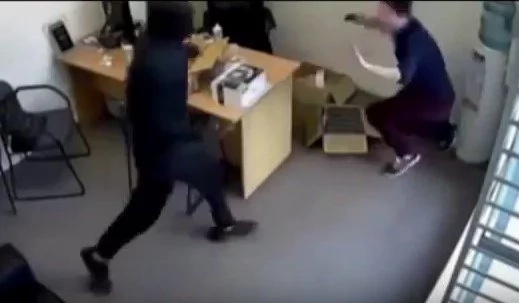 CCTV footage captures Sarah Patel's heroic act