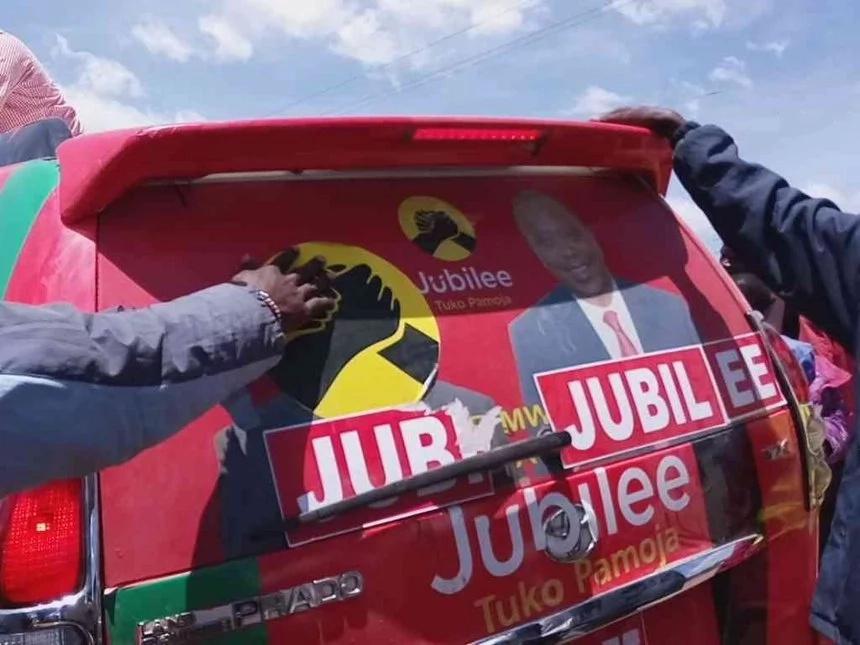 Al-Shabaab carjack Jubilee supporters