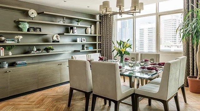 Iza Calzado's renovated modern condominium unit in Makati City