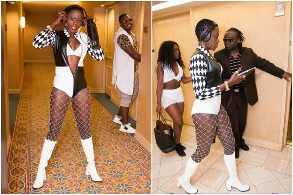 Akothee steps out looking like a stripper and her fans are PISSED