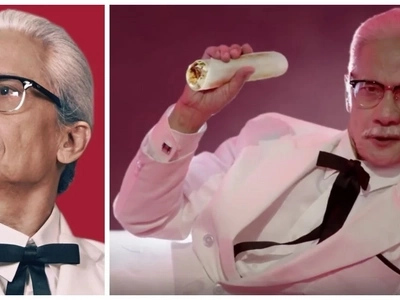 Pen Medina finally gets his chance to become the new KFC Colonel and tries this crazy stunt!