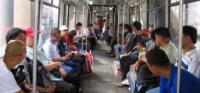 Here are 5 types of people you encounter when riding the MRT/LRT