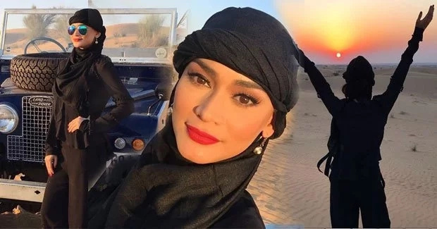 Pia Wurtzbach is having a blast in Dubai