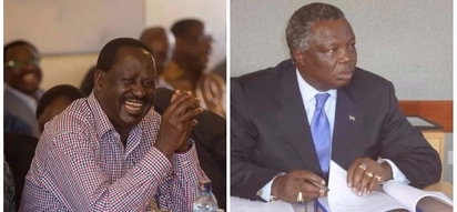 Call of your Swearing-in, it will plunge the country into violence -Atwoli tells Raila