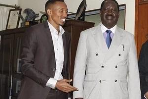 Moha Jicho Pevu gets a surpise about Raila Odinga in his trip to Botswana