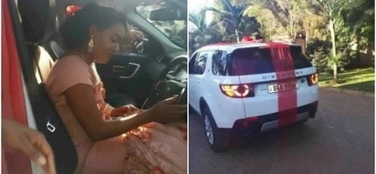 Man repossesses Range Rover Sport from side chic and hands it to wife