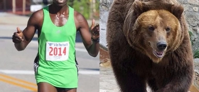 Kenyan athlete shocks Americans after outrunning two dangerous beasts in a forest
