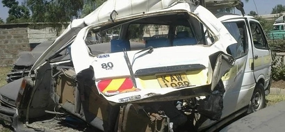 Matatu Wreck On Kiambu Road Kills One, Injures 15