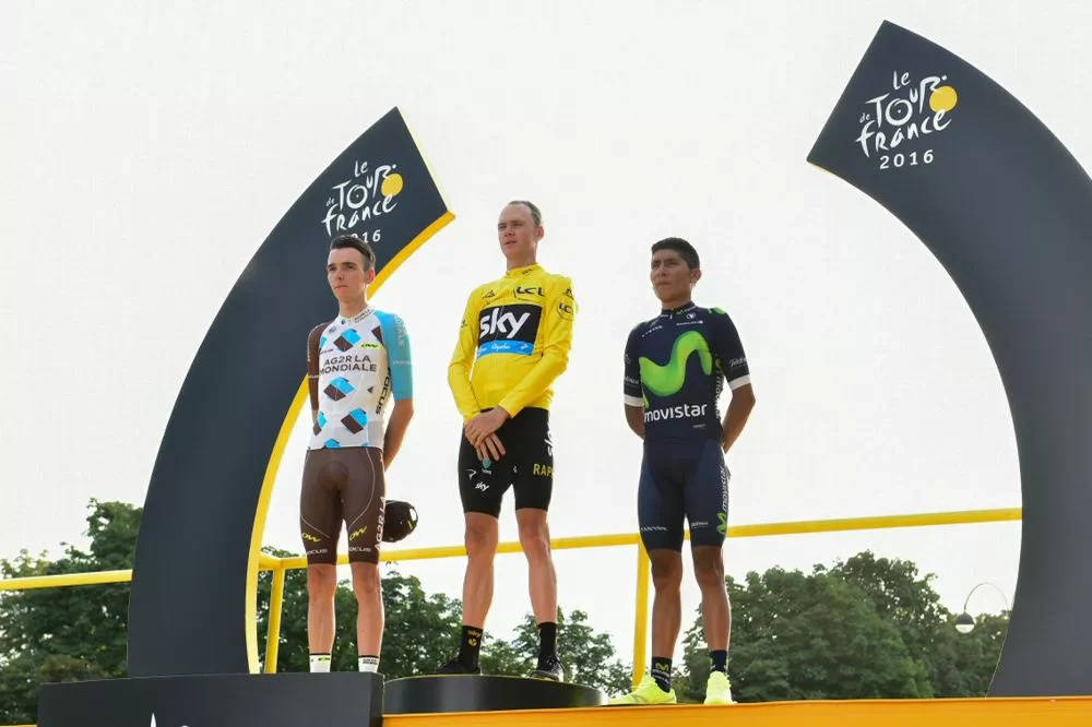 """Nairo: """"Hemos vuelto al podio: tres Tours, tres podios"""""""