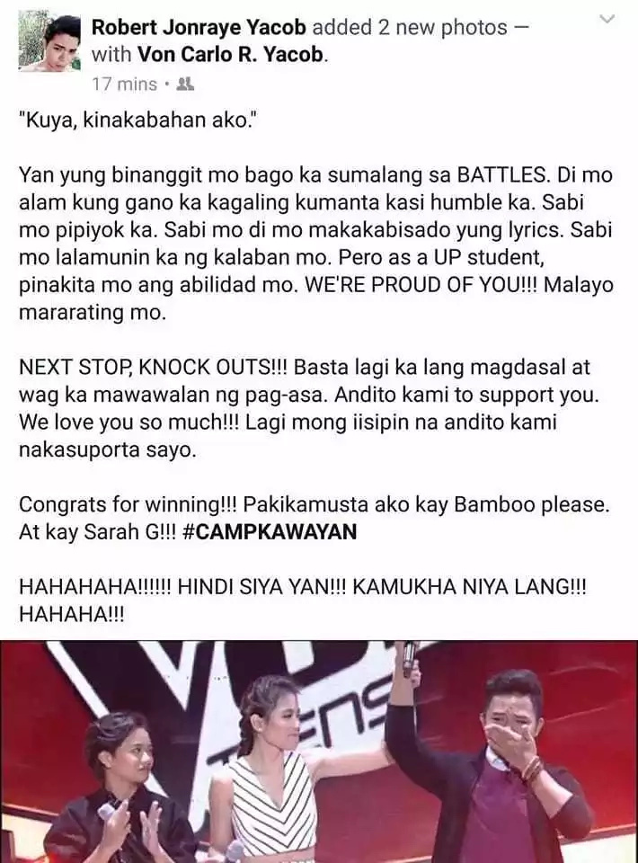 Siya ba talaga? Netizen shares hilarious post about being mistaken as one of the artists in The Voice Teens