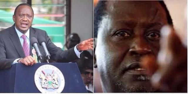 Tazama Picha za Uhuru na Raila wakiwa wamekasika huku mbio za Ikulu zikishika moto