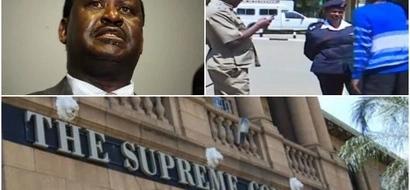 Jamaa azua kioja nje ya Mahakama Kuu akimtafuta Raila Odinga (video)