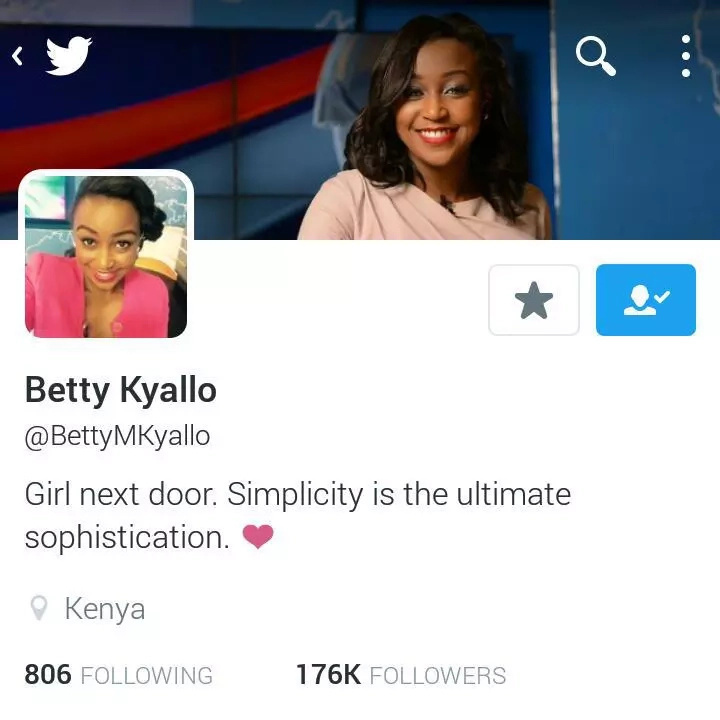 KTN's Betty Kyallo drops her husband's name