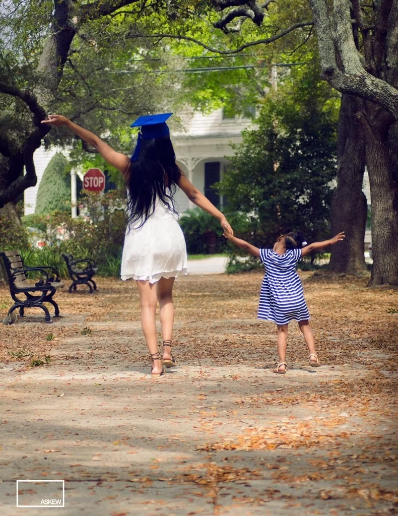 Girl, 16, graduates from high school a year early despite having a baby at 13 (photos)
