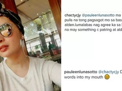 Pauleen Luna responds to AlDub trolls bashing her and EB dabarkad Patricia Tumulak