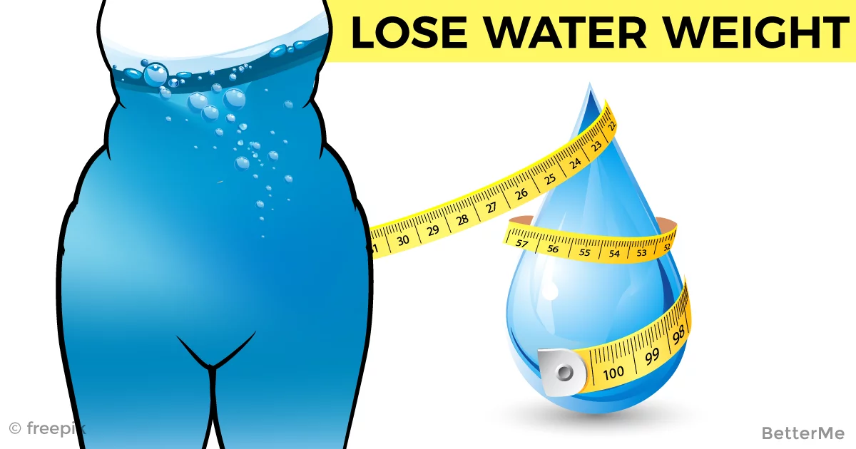 These 5 simple tips can help lose water weight