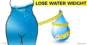 5 simple tips that can help lose water weight