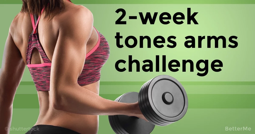 2-week toned and shaped arms challenge