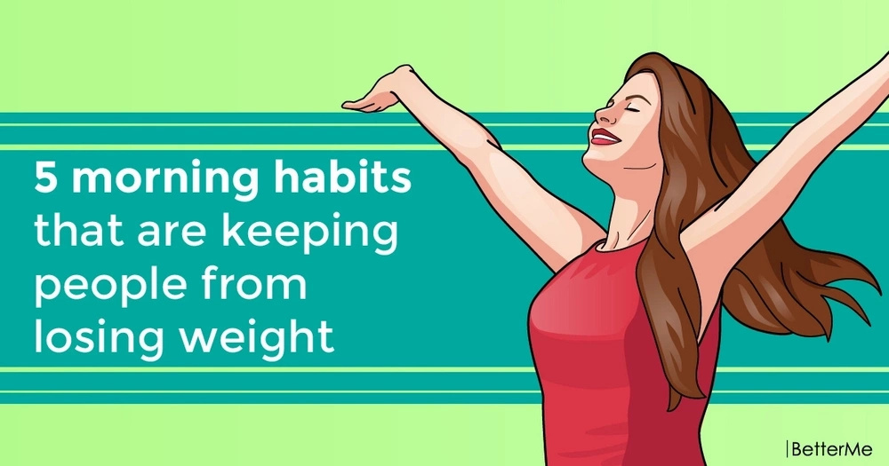 5 morning habits that are keeping people from losing weight