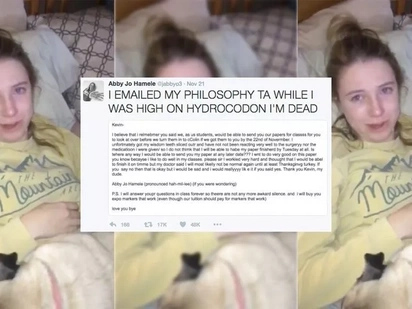 Teen Gets Stoned During Wisdom Teeth Surgery And Sends Hilarious Email To Teacher