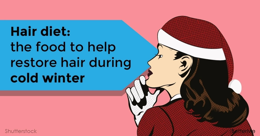 Hair diet: the food to help restore hair during cold winter