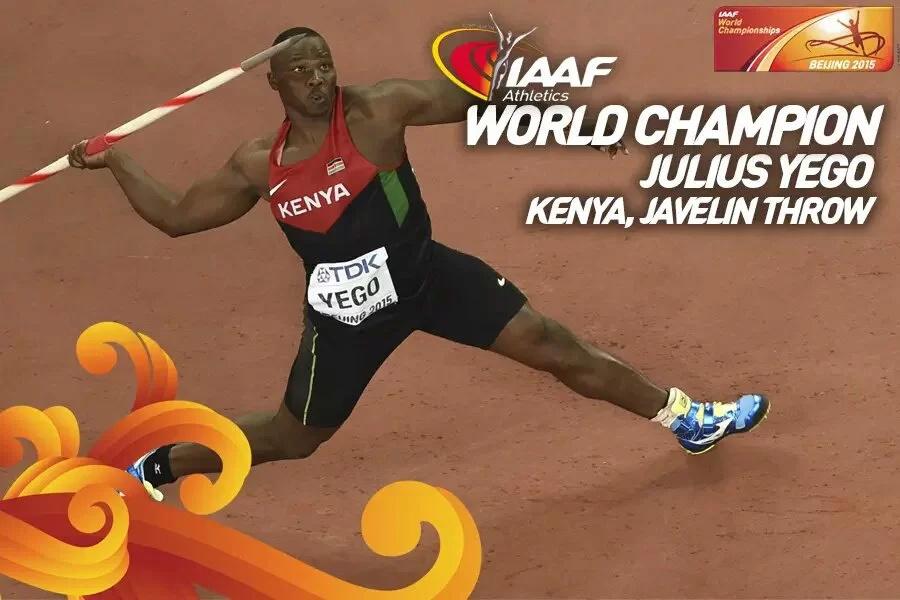 Sababu kuu ya Julius Yego kukosa medali ya dhabahu