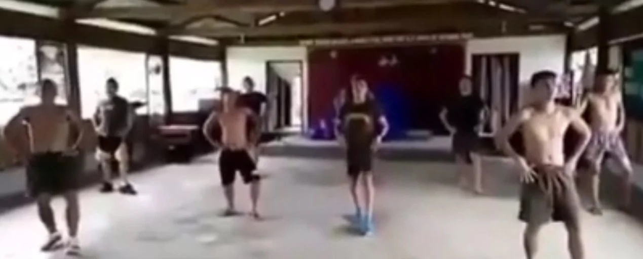 VIDEO: Topless PH soldiers showcased their talents