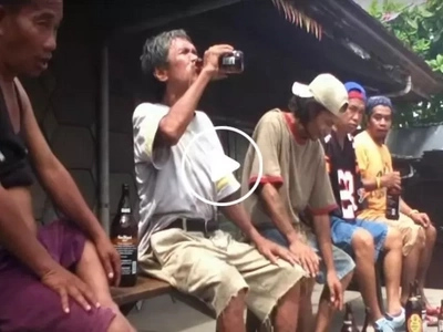 This epic beer drinking contest in Cebu will make you laugh....this is the reason why!